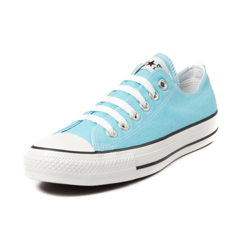 Womens Converse All Star Lo Bluefish Sneaker, Light Blue, at Journeys Shoes