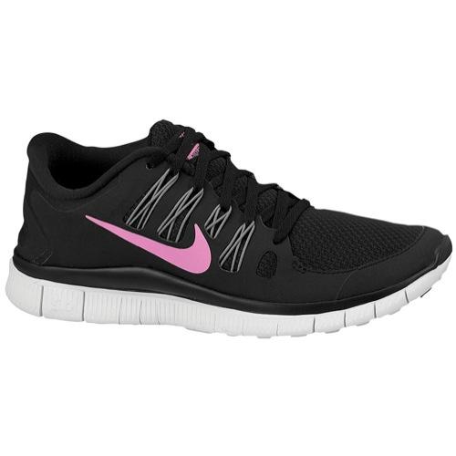 Nike Free 5.0  - Women's - Running - Shoes - Black/Red Violet/Grey