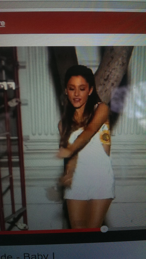 dress ariana grande platsuit white yellow flowers floral skirt tank top