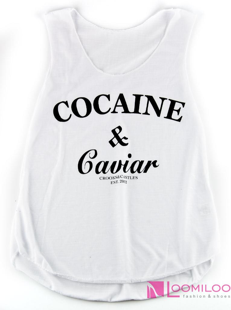 Cocaine & Caviar Tank Top Tanktop Shirt Eleven Dope Vogue Hipster Boy Swag Obey   eBay