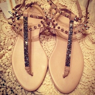 shoes sandals stud bead zara t-straps ankle strap studs glitter shoes