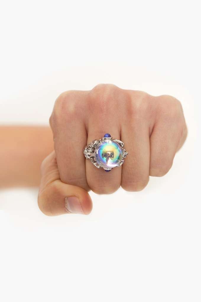 Crystal Ball Ring | Shop Sale at Nasty Gal