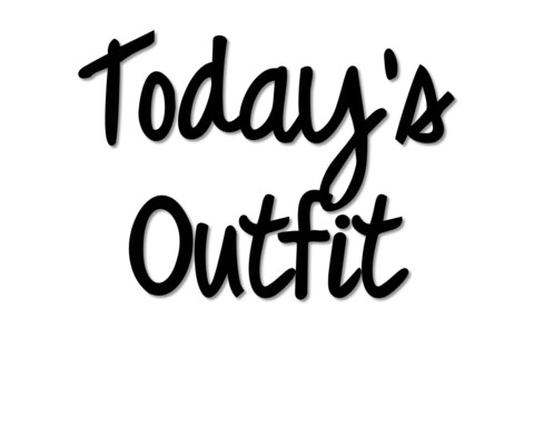 Today's Outfit T Shirt | Cheap Funny T Shirts ~  Pop Culture T Shirts ~ Baby Onesies ~ Xray Skeleton Baby Tops ~ Funny Maternity Tops