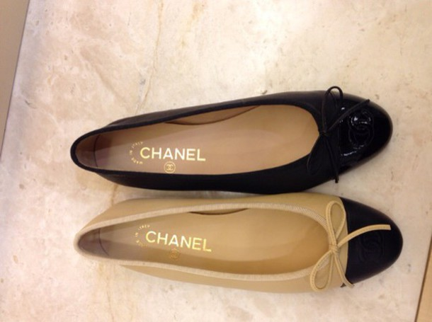shoes chanel flats