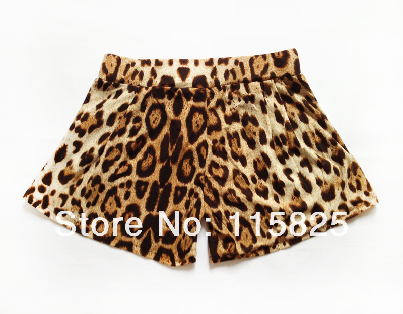 New Arrival 2013, Free shipping Fashion And Sexy Leopard Print Women Shorts/Cheap High Waisted Shorts D9101-inShorts from Apparel & Accessories on Aliexpress.com