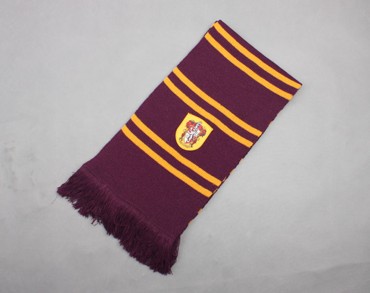 Hot ! HarryPotter Gryffindor/Slytherin/Hufflepuff/Ravenclaw Adult Knit SCARF Cos   eBay