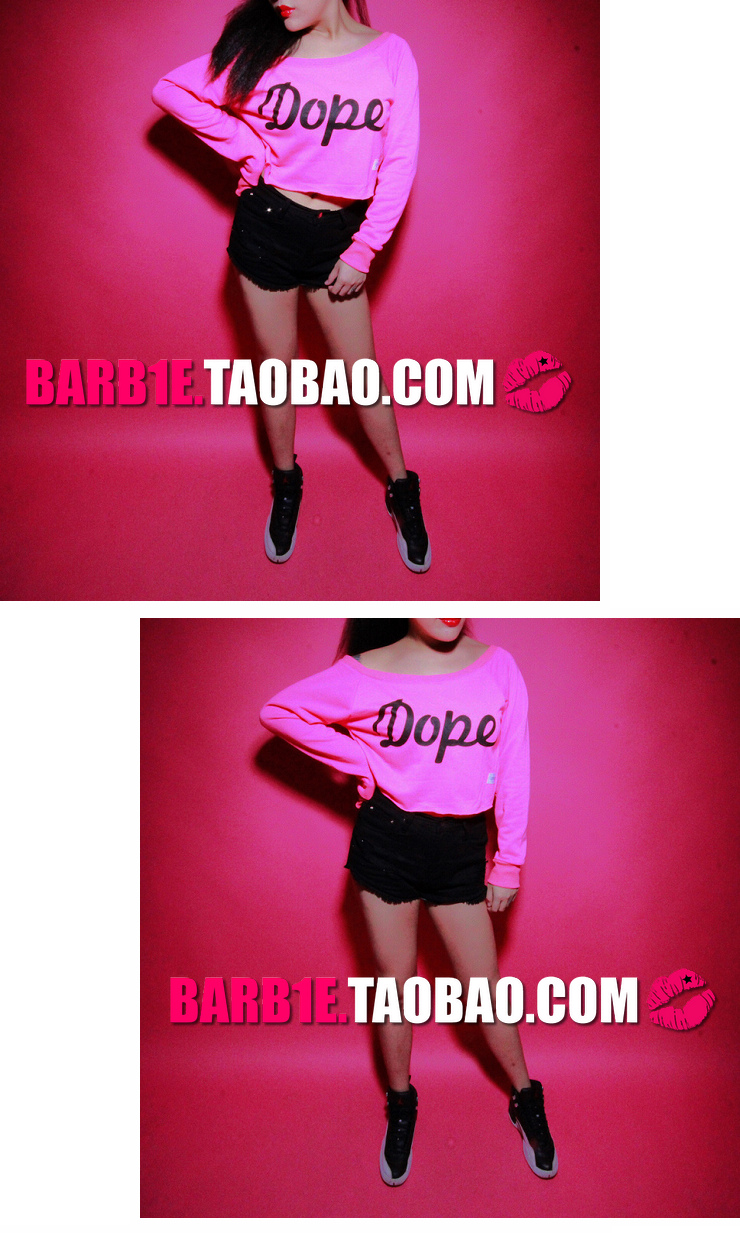 Fashion star big honey skateboard street stampd la dope neon lo shi short pullover sweatshirt-inHoodies & Sweatshirts from Apparel & Accessories on Aliexpress.com