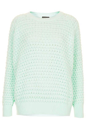 Knitted Chunky Bobble Jumper - Jumpers - Knitwear  - Clothing - Topshop