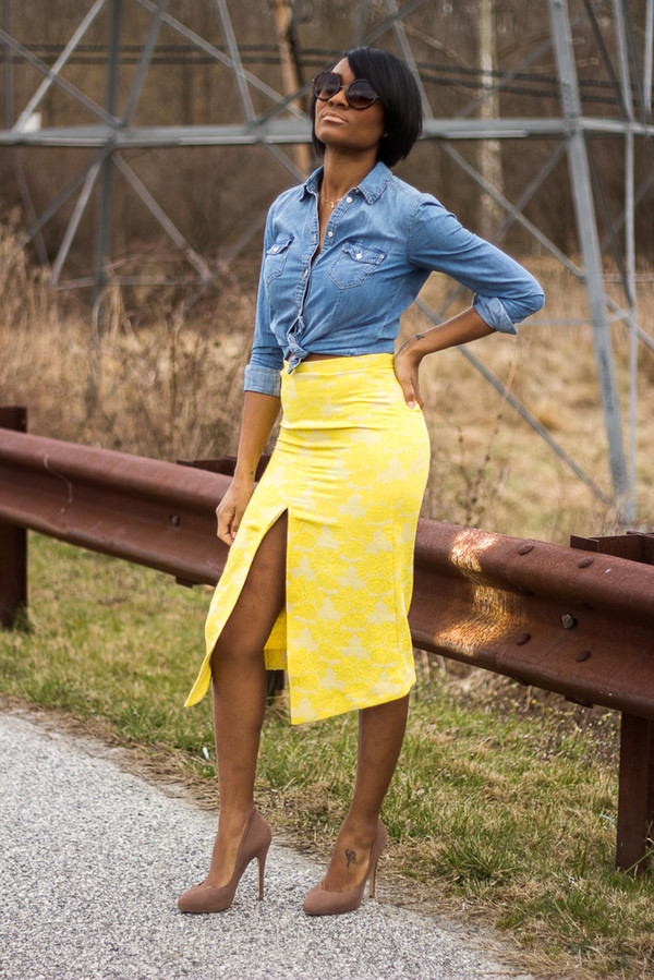 the daileigh t-shirt skirt shoes sunglasses