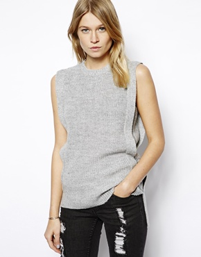 ASOS | ASOS Tank in Rib Knit at ASOS
