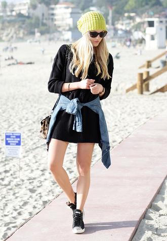 cheyenne meets chanel sweater jacket hat shoes bag sunglasses jewels beautymanifesto