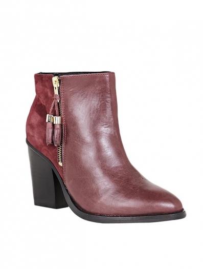 Bottines & low boots à talons DEENA & OZZY 40 rouge neuf avec étiquette - 2057525