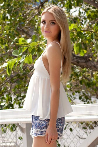 Shop Fashion Avenue - White Flare Top