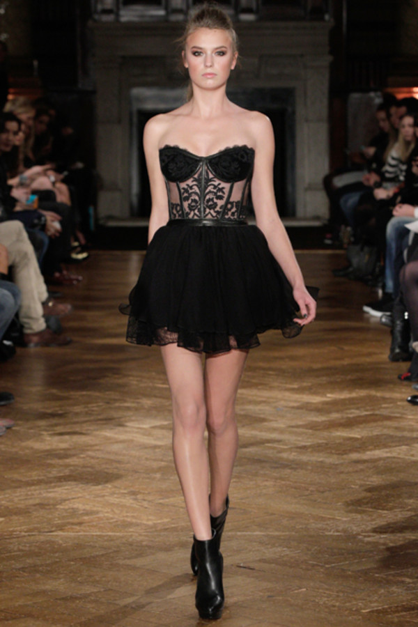 dress black dress cute dress little black dress kristian aadnevik lace lace dress floral dress bustier dress shoes