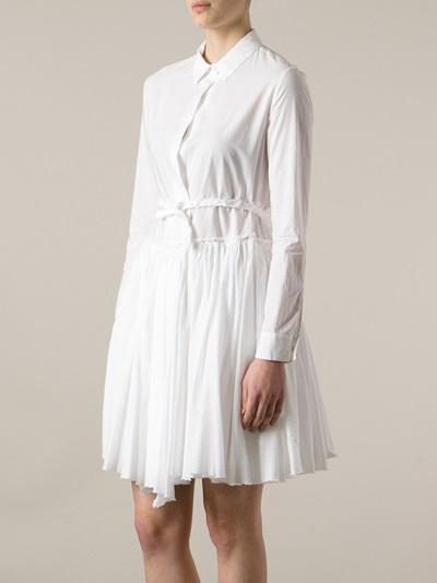 Hache Pleated Dress - Etre - Vestire - Farfetch.com