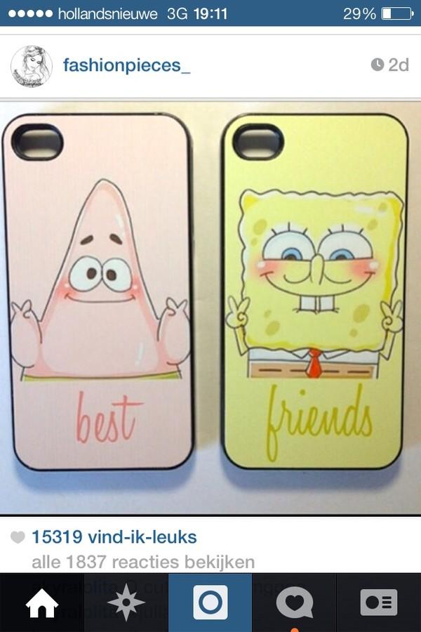 sunglasses cover iphone spongebob