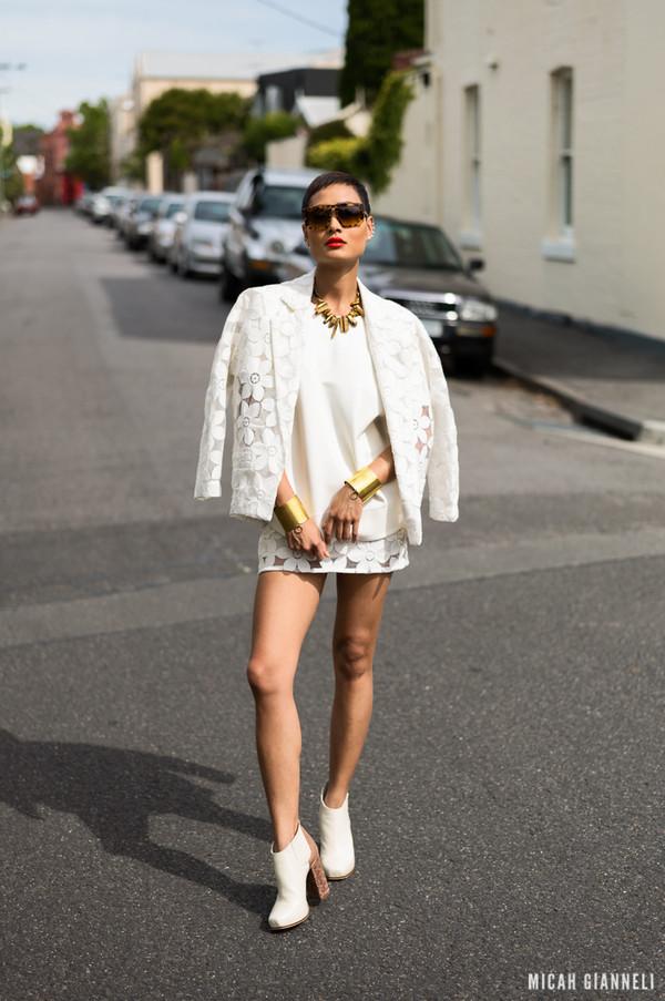 micah gianneli sunglasses t-shirt jewels