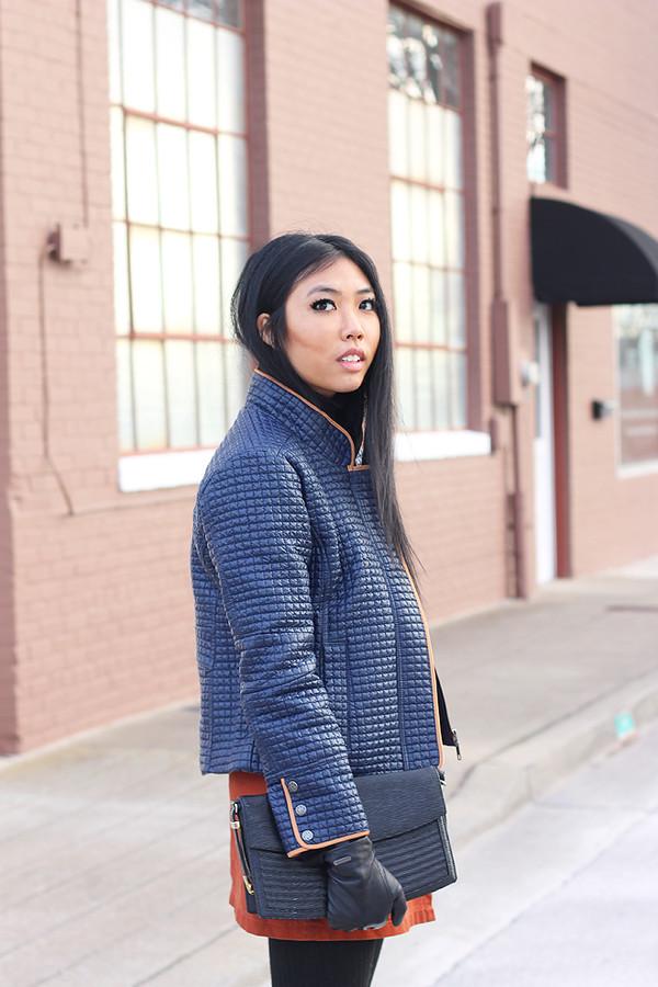 fashion of a novice skirt jacket shoes
