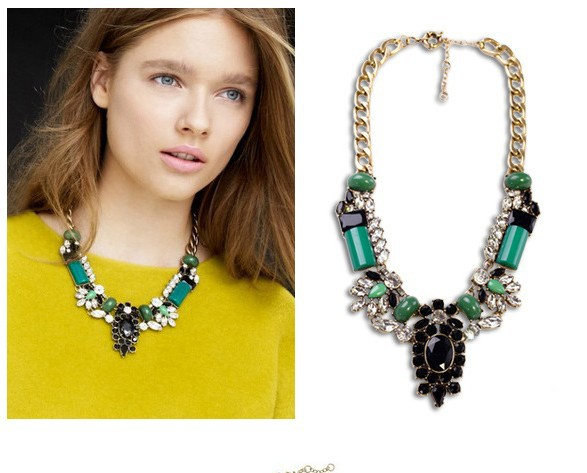 2013 Necklace Fashion Luxury Statement Necklace Exaggerate Golden Chunky Chain For Women-in Chain Necklaces from Jewelry on Aliexpress.com