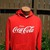 Buyosphere — Jerzees vtg 1970 Red Coca Cola Hoody Sweatshirt from privatescreeningseattle.com