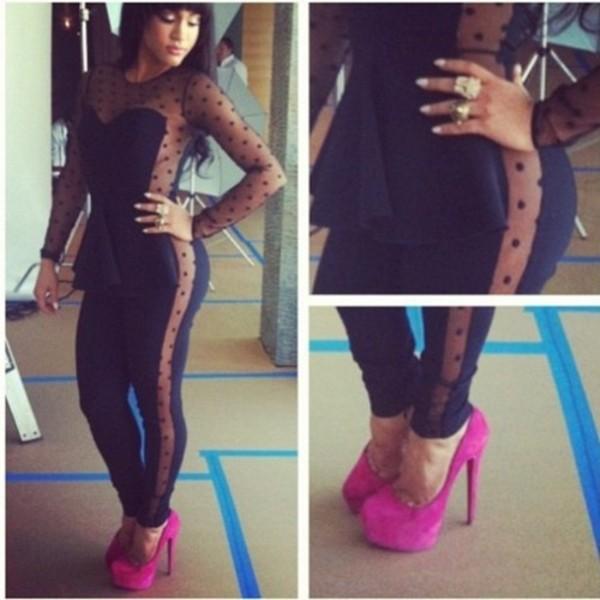 dress black jumpsuit