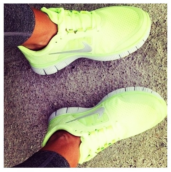 shoes neon lime nike nike running shoes nike air