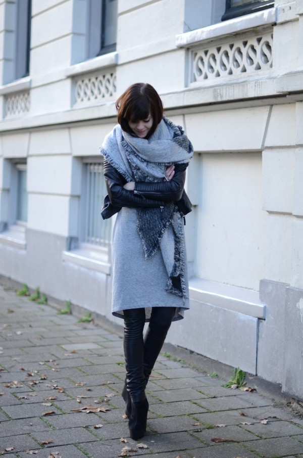 lovely by lucy scarf jacket t-shirt dress pants shoes