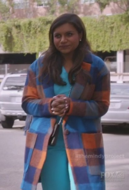 coat the mindy project mindy kaling