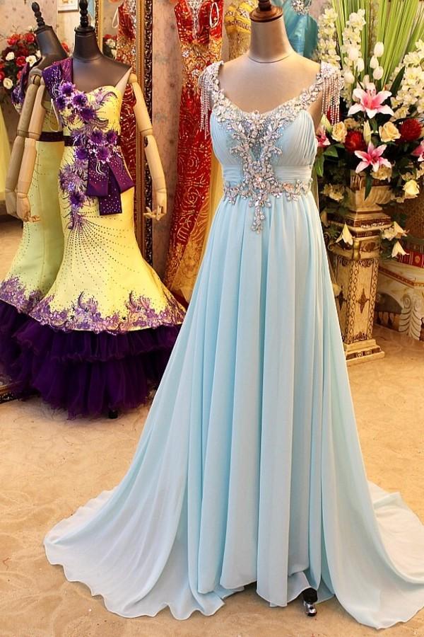 dress blue maxi dress sequin dress blue prom dress