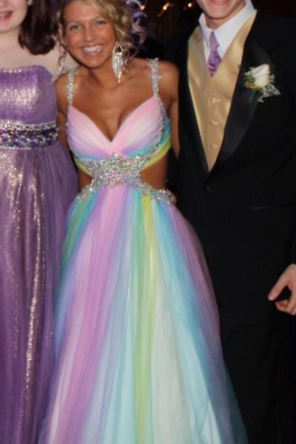dress long prom dress prom dress pink prom dress prom ball gown dress wedding dress mac duggal prom dresses beautiful multicolor colorful dress