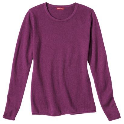 Merona® Women's Cashmere Blend Crewneck Pull... : Target