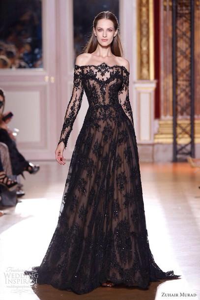dress lace dress prom dress black dress long dress gothic dress