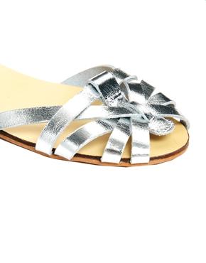 ASOS | ASOS FAITHLESS Leather Sandals at ASOS