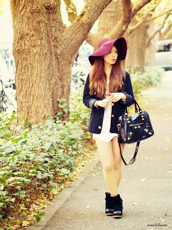 xoxo hilamee jacket shorts shoes bag hat