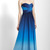 2014 Perfect BCBG Molly Blue Ombre Chiffon Evening Gown Sale herve leger dress