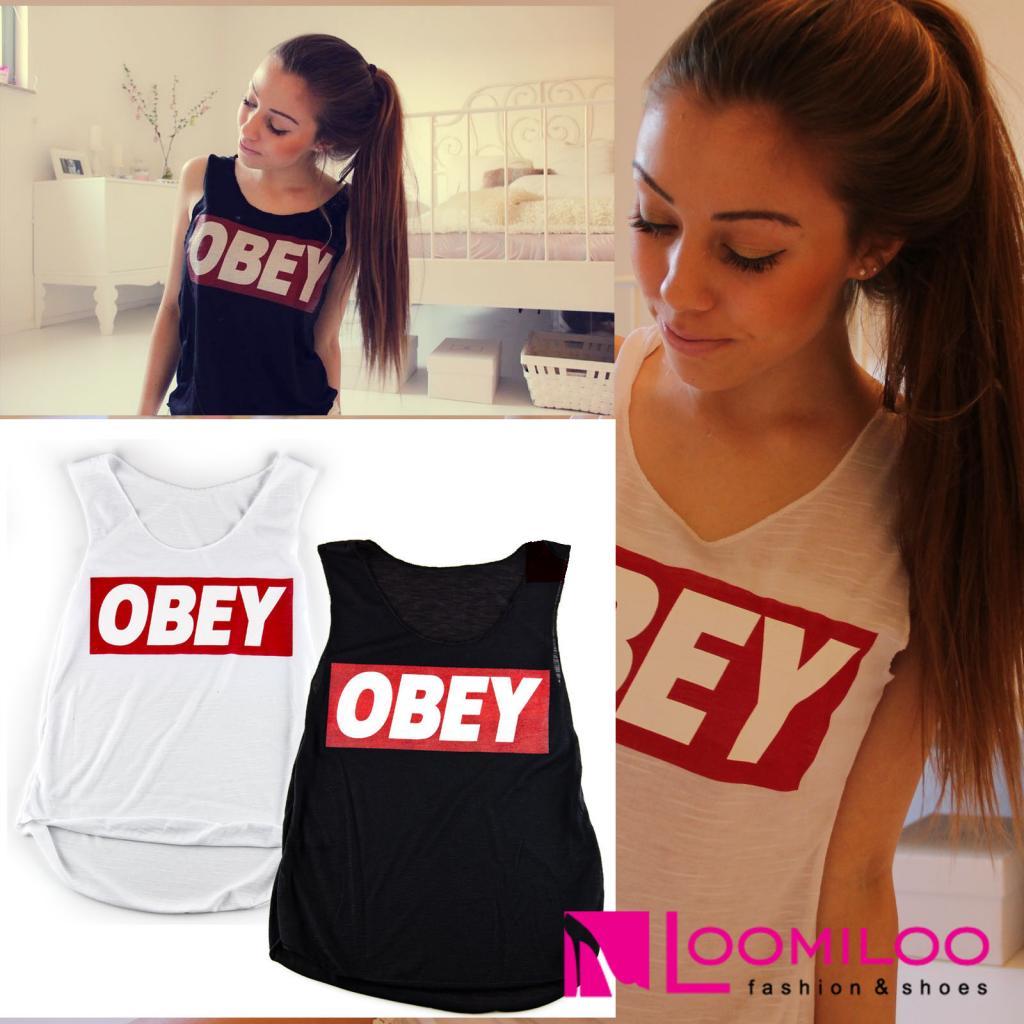 Obey Tanktop Damen Shirt FASHION 2014 Style Homies Dope Jay-Z | eBay
