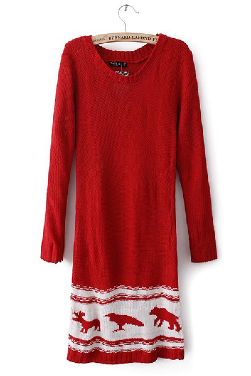 Small Animals Deer Pattern Base Yarn Skirt,Cheap in Wendybox.com