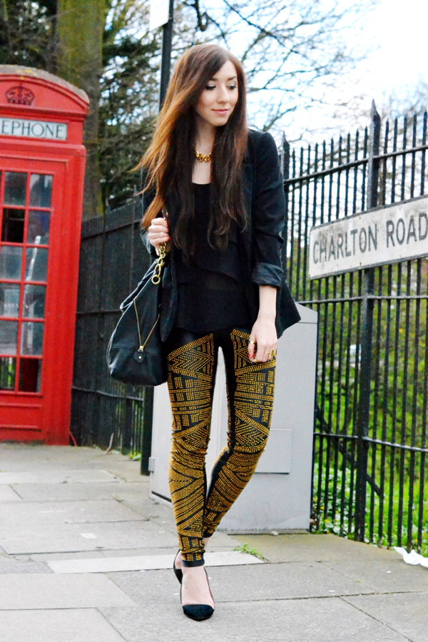 flirting with fashion jacket t-shirt pants shoes bag
