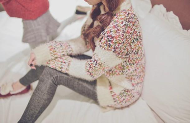 sweater multicolor kfashion korean fashion asian fashion asian
