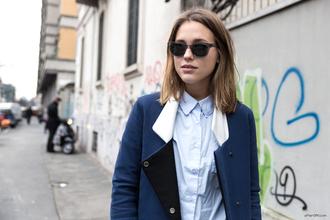 shirt jewels jeans sunglasses bag coat after drk