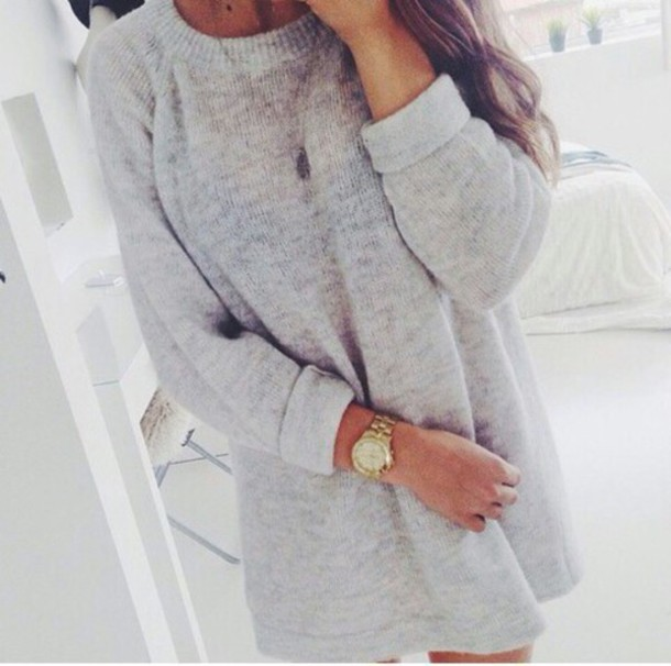 sweater big rolled sleeves oversized sweater