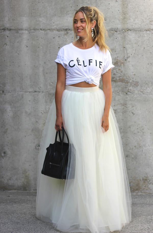 a fashion love affair t-shirt jewels skirt bag shoes celfie tshirt celfie selfie