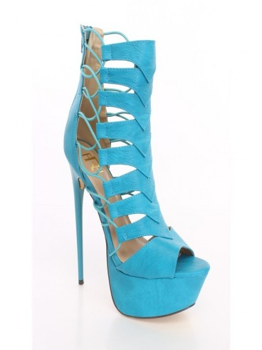 For The Badass Woman, Not Afraid of Height | The Hottest Women's Shoes PARTITION - TEAL