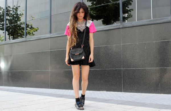 madame rosa t-shirt shoes bag jewels dress