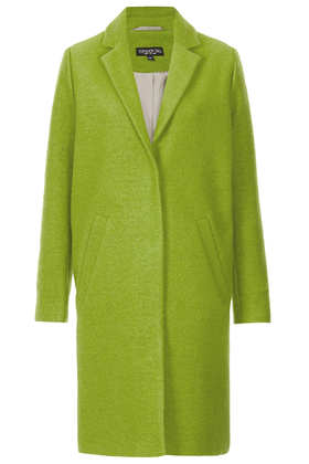 Tall Wool Boyfriend Coat - Topshop