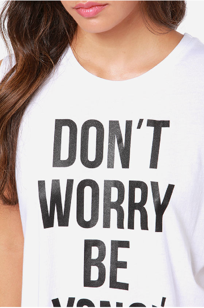 Don't Worry Be Yonce Tank (Free Shipping) – Fashion Sanity