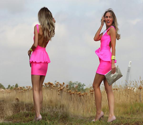 dress short dress peplum dress