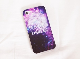 jewels justin bieber iphone iphone case iphone 5 case galaxy print belieber forever