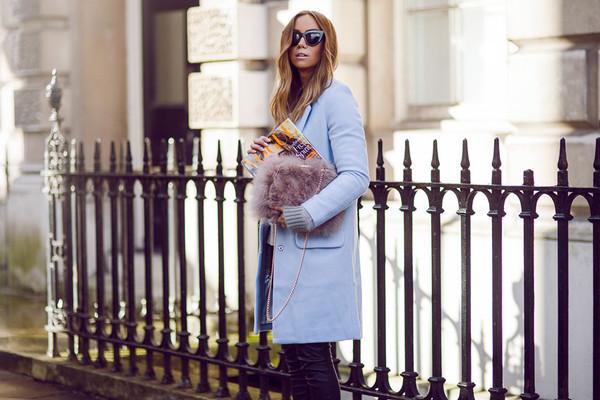 lisa olsson pants coat sweater bag shoes sunglasses