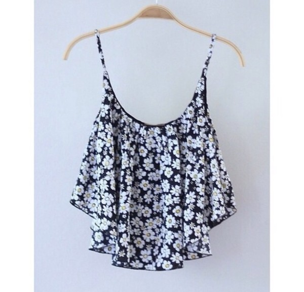blouse blouse with flowers